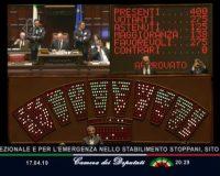 Approvato alla Camera il Decreto Legge Emergenze