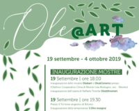 Dal 19 settembre al 4 ottobre ospiteremo le Mostre d'Arte Ole@art e Ole@Ceramic!